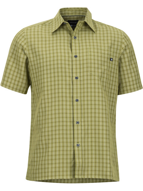 Marmot M's Eldridge SS Shirt Wheatgrass